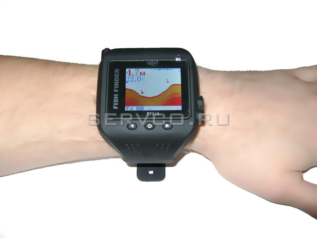 lucky ff518 портативный эхолот часы