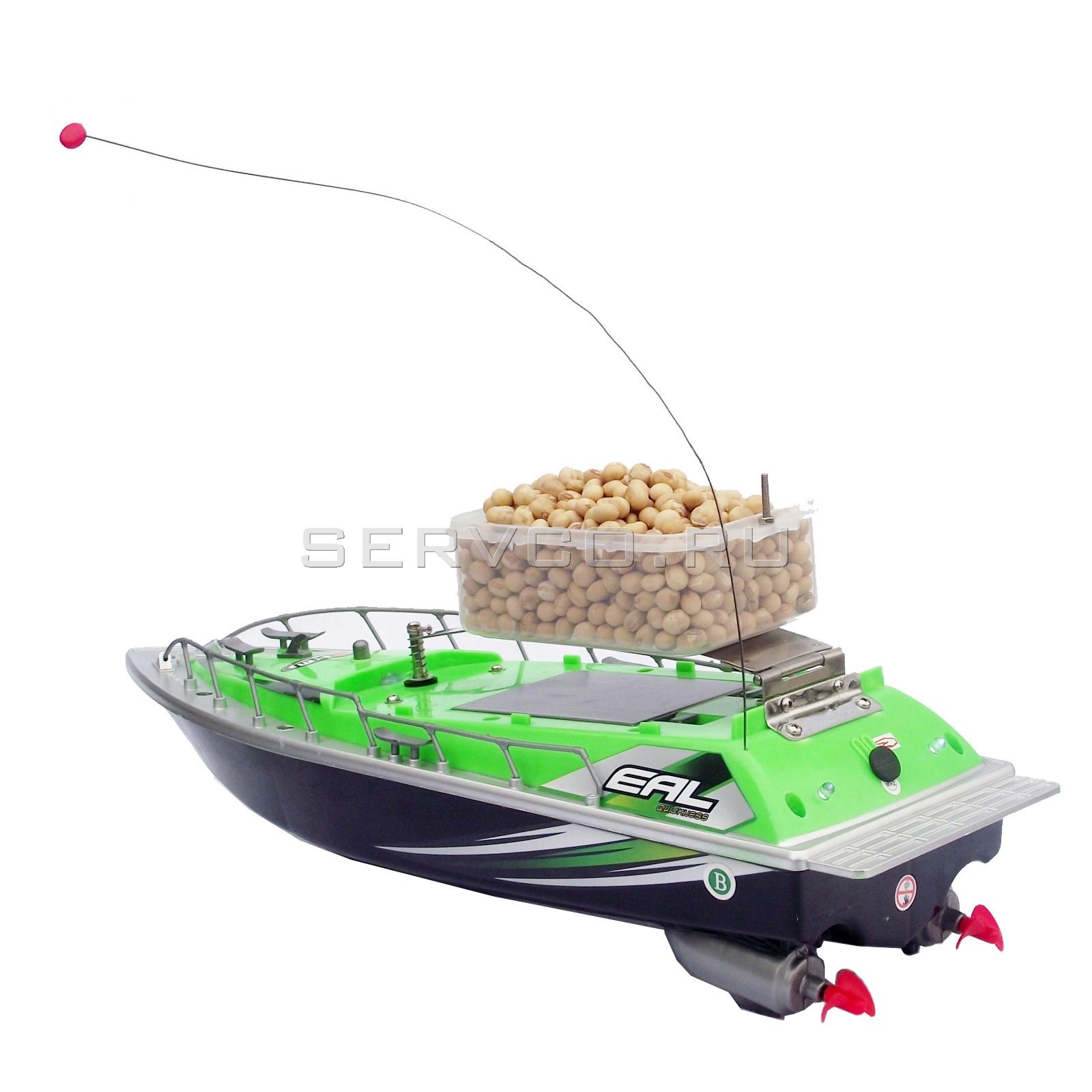 кораблик рыболовный радиоуправляемый